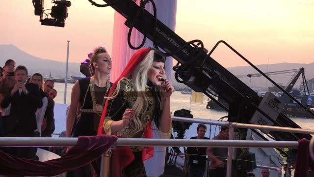 Lady Gaga performs 64th Cannes Film Festival at Cannes