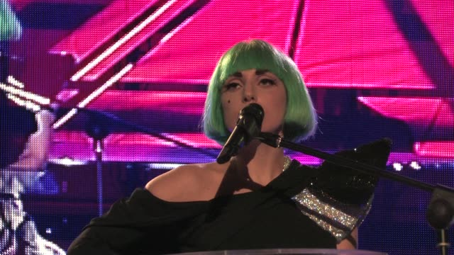 Lady Gaga Performs at Europride at Circus Maximus on June 11 2011 in Rome Italy