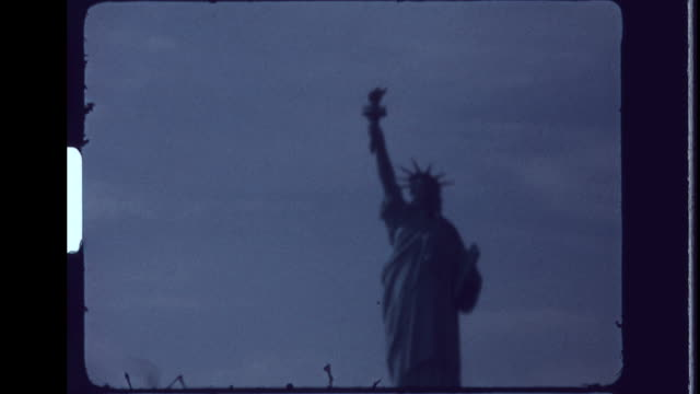 lady liberty - home movie stock videos & royalty-free footage