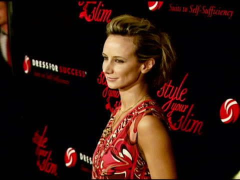 lady victoria hervey at the rachel hunter and slim-fast host style your slim event with special guest tim gunn and dj macy gray at boulevard3 in... - レイチェル ハンター点の映像素材/bロール