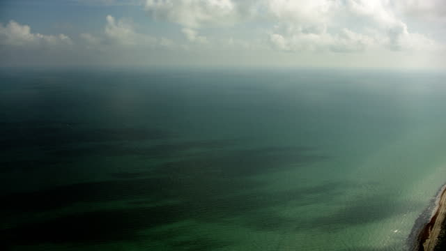 stockvideo's en b-roll-footage met lagoons on yucatan coast in mexico - golf van mexico