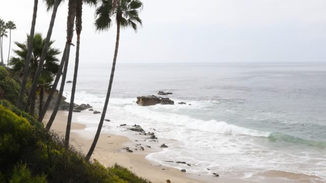 laguna beach - southern california - seascape stock videos & royalty-free footage