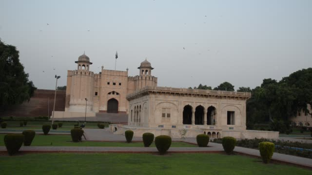 lahore fort, pakistan - lahore pakistan stock videos & royalty-free footage