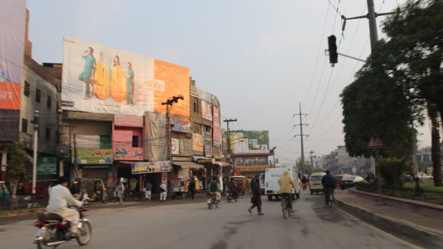 lahore , pakistan - lahore pakistan stock videos & royalty-free footage