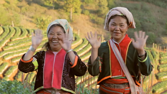 lahu hill tribe woman - asian tribal culture stock videos and b-roll footage