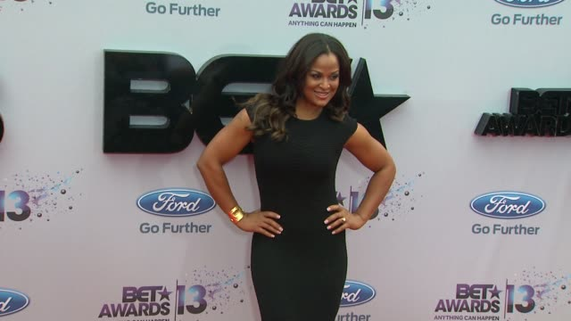 Laila Ali at BET 2013 Awards Arrivals on 6/30/13 in Los Angeles CA