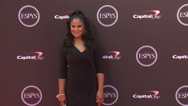 Laila Ali at The 2018 ESPYS at Microsoft Theater on July 18 2018 in Los Angeles California