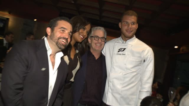 Laila Ali Blake Griffin at The CP3 Foundation's Celebrity Server Dinner Hosted By Chris Paul in Los Angeles CA