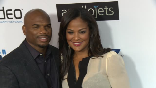 Laila Ali Curtis Conway at The CP3 Foundation's Celebrity Server Dinner Hosted By Chris Paul in Los Angeles CA