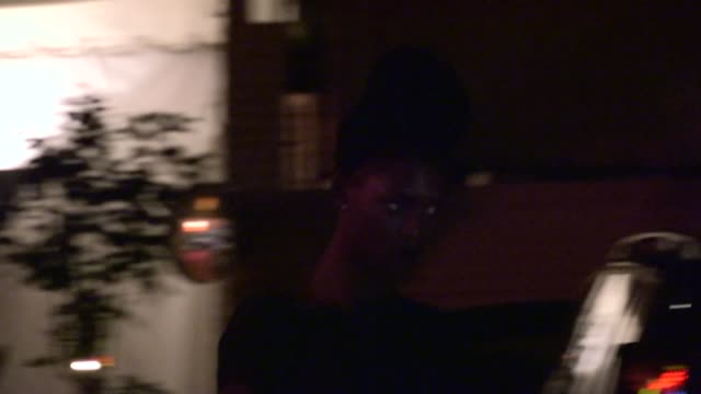 Laimi Mondjila departs Chateau Marmont in West Hollywood 05/01/13