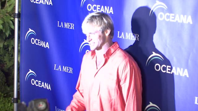 laird hamilton at the oceana's annual partners award gala honoring former president bill cli at los angeles ca - oceana stock videos & royalty-free footage