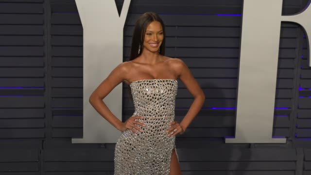 lais ribeiro at 2019 vanity fair oscar party hosted by radhika jones at wallis annenberg center for the performing arts on february 24, 2019 in... - vanity fair oscar party stock videos & royalty-free footage