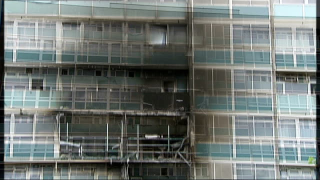 deaths 'could have been prevented' fire damage to lakanal house - inquest stock videos & royalty-free footage