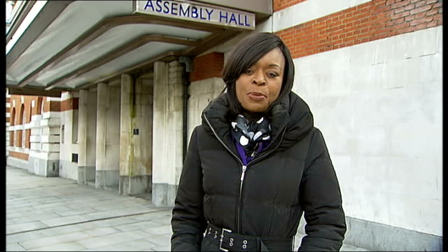 government advisor on fire and rescue policy gives evidence brixton reporter to camera - inquest stock videos & royalty-free footage