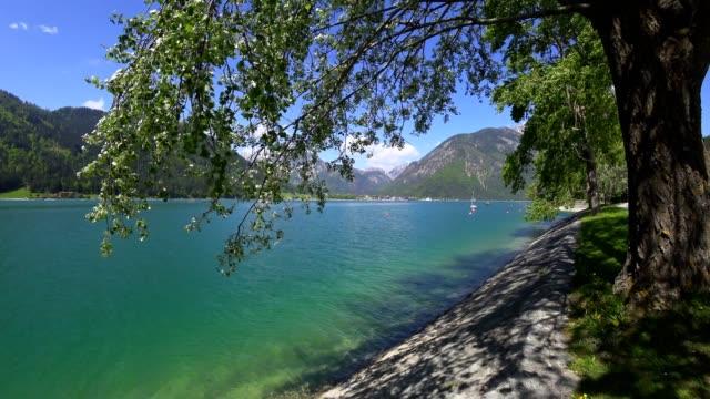 Lake Aachensee, Tirol, Österreich, im Frühjahr