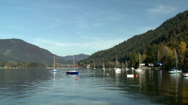lake achensee - austrian culture stock videos & royalty-free footage