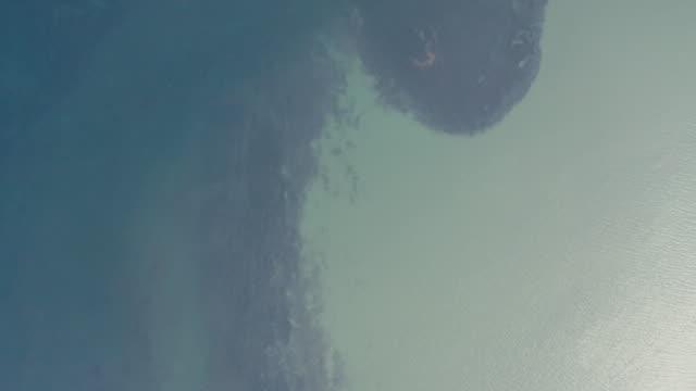 lake aerial view - uppdämt vatten bildbanksvideor och videomaterial från bakom kulisserna