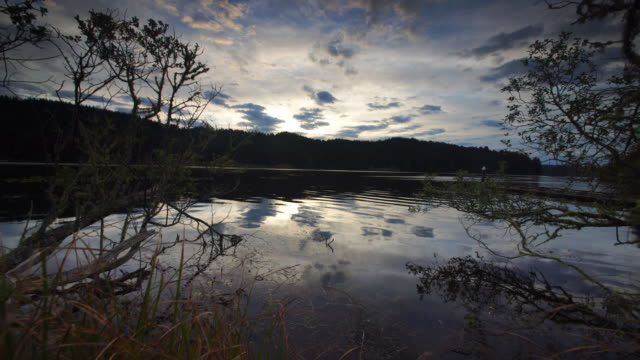 Lake at dawn, Oregon