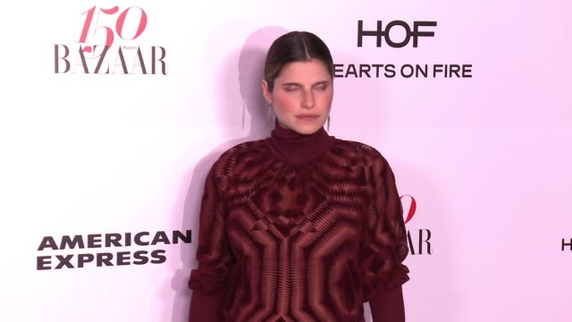 Lake Bell at the Harper's BAZAAR Celebrates 150 Most Fashionable Women at Sunset Tower on January 27 2017 in West Hollywood California