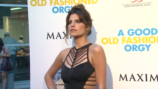 Lake Bell at the Los Angeles Premiere of 'A Good Old Fashioned Orgy' at Hollywood CA