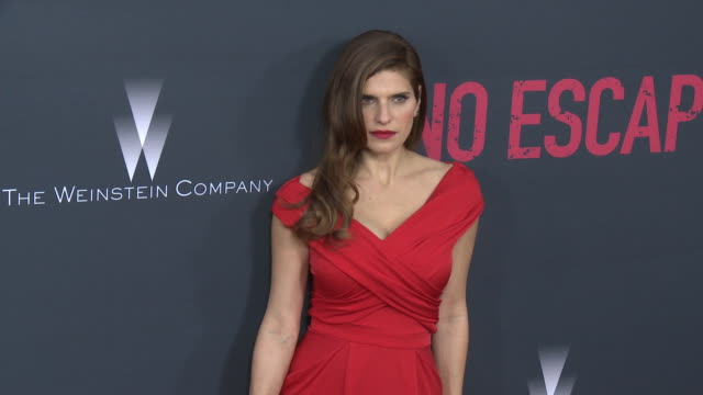 Lake Bell at the 'No Escape' Los Angeles Premiere at Regal Cinemas LA Live on August 17 2015 in Los Angeles California