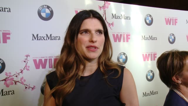 INTERVIEW Lake Bell on what brings her out and why it's important to have organizations like WIF in the entertainment industry at the Women In Film...