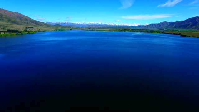 vidéos et rushes de lac benmore - dépression terrestre