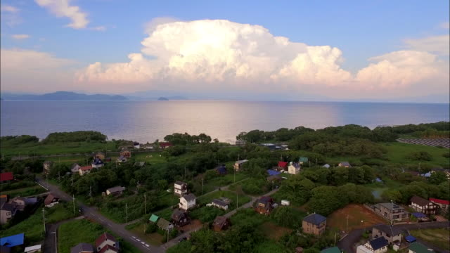 lake biwa in shiga prefecture - shiga prefecture stock videos & royalty-free footage