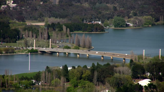 lake burley griffin - canberra stock videos & royalty-free footage