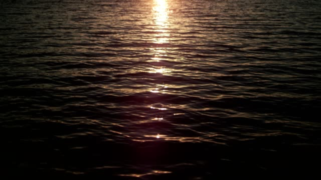 lake during sunset. romantic sky reflecting in water - romantic sky stock videos & royalty-free footage