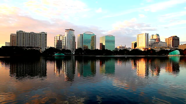 lake eola in orlando florida - orlando florida stock videos & royalty-free footage
