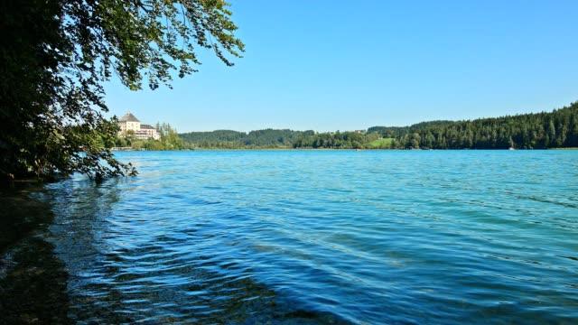 Lake Fuschlsee, Austria, in summer