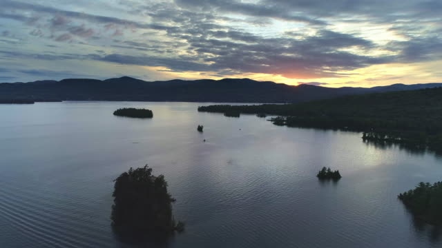Lake George - Sunset Wide A