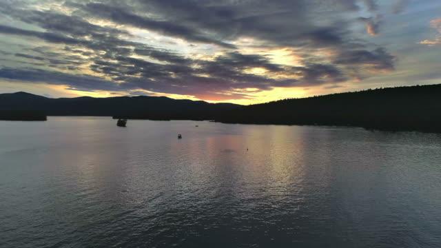 Lake George - Sunset Wide Rise