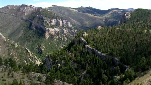 vídeos y material grabado en eventos de stock de lago helena-vista aérea-montana, ametralladora y condado de clark, estados unidos - montana
