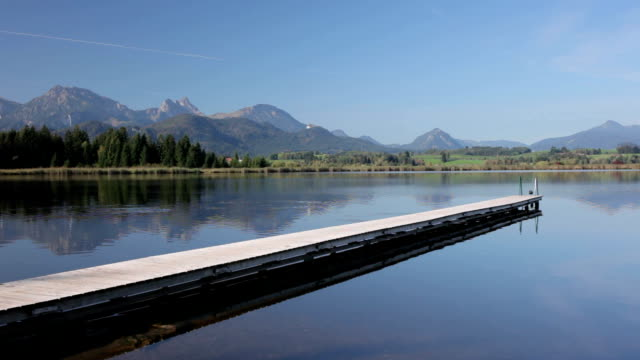 lake hopfensee - jetty stock videos & royalty-free footage