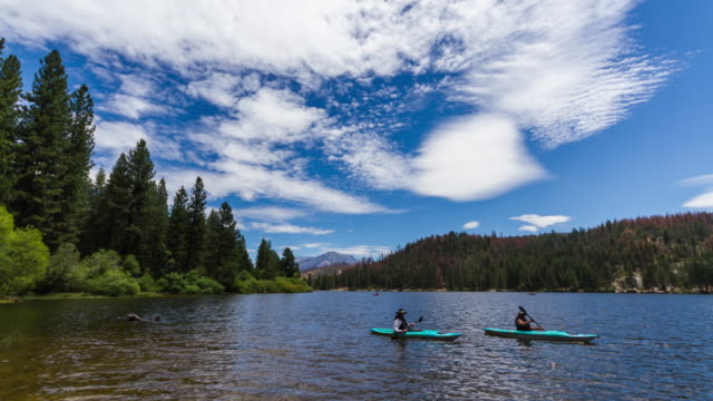 stockvideo's en b-roll-footage met lake hume - sequoia national park