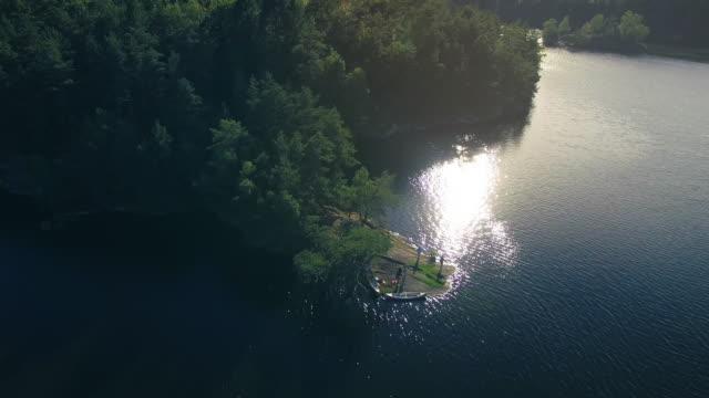 See in Schweden Überführung
