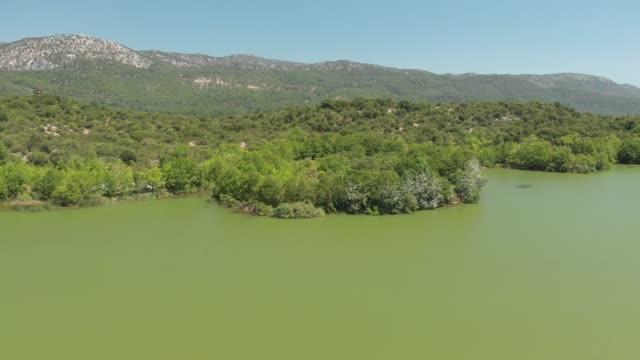 vidéos et rushes de lake kovada, egirdir, turquie - fucus