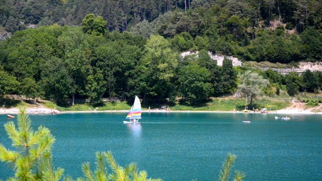 lake ledro - lago stock videos & royalty-free footage