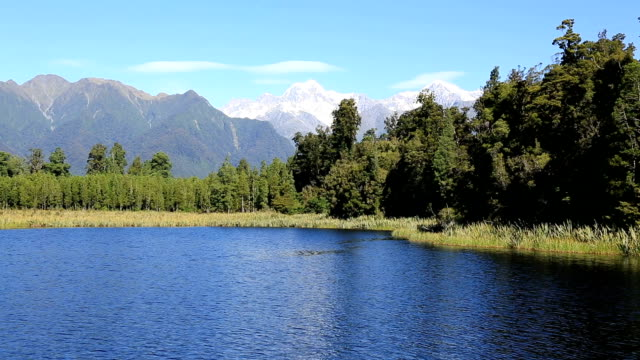 Lake Matheson Panorama, New Zealand