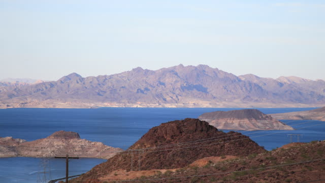 lake mead - 4k - nevada stock-videos und b-roll-filmmaterial