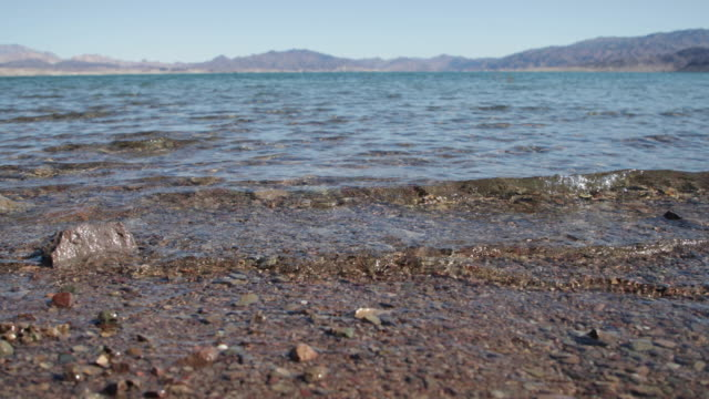 vídeos de stock e filmes b-roll de lake mead - 4k - nevada