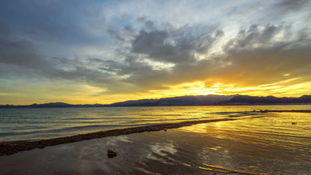 Lake Mead in de ochtend