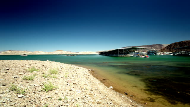 see lake mead - fluss colorado river stock-videos und b-roll-filmmaterial