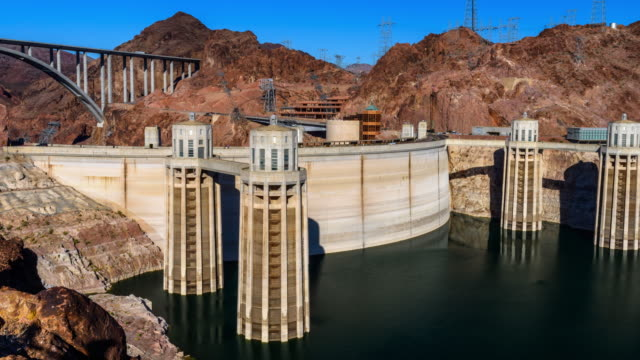 lake mead - hoover dam stock videos and b-roll footage