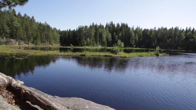 Lake Mustalampi - Nuuksio National Park, Finland