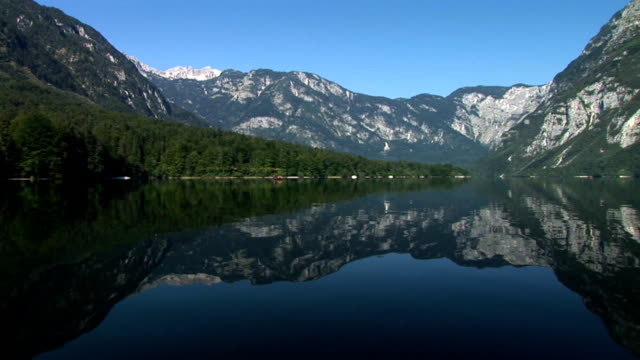hd: lake of bohinj - triglav national park stock videos and b-roll footage