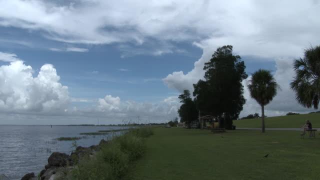 Lake Okeechobee, Florida Shoreline, Panoramic View