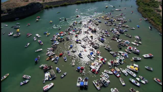 lake party in las vegas. - the strip las vegas stock videos & royalty-free footage
